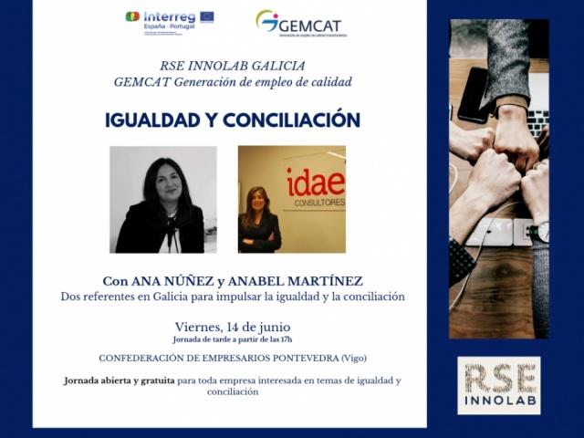 El próximo viernes tienes una cita para aprender sobre igualdad y conciliación en la RSE-Innolab