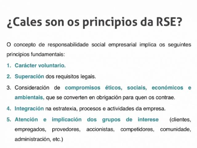 A responsabilidade social empresarial é unha das claves para obter emprego de calidade