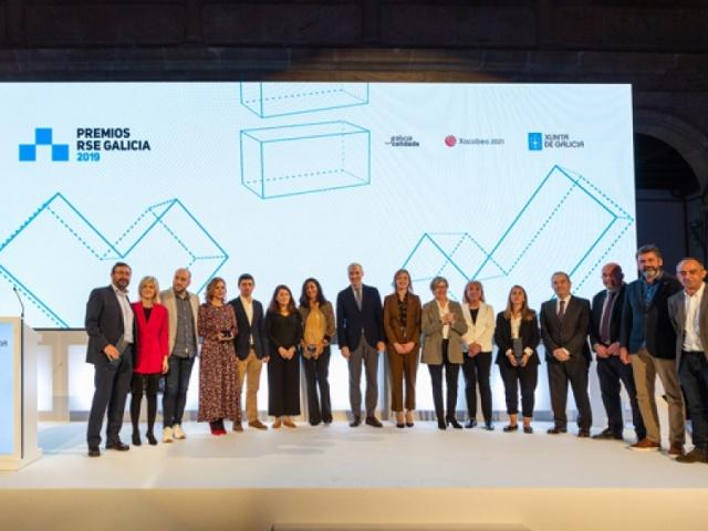 Celebramos o compromiso das empresas galegas na entrega de galardóns dos Premios RSE Galicia