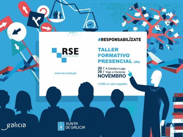 As pemes da segunda edición de Responsabilízate participarán en talleres de formación presencial