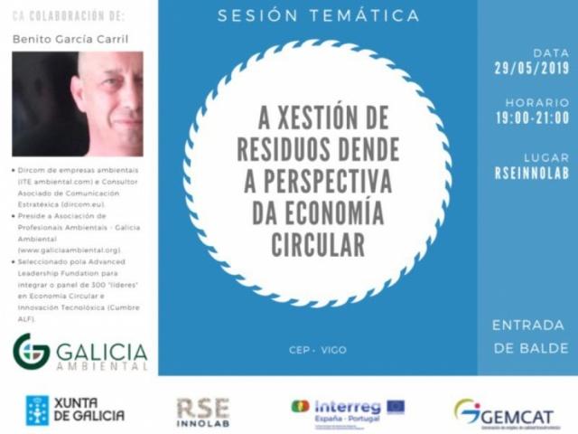 Sesión RSE-Innolab: La gestión de residuos desde la perspectiva de la economía circular