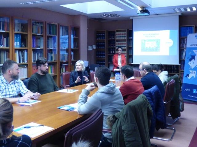 Las empresas Responsabilízate de Pontevedra y Ourense participan en una sesión formativa