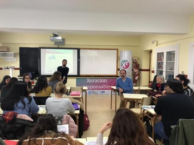 A Xunta promove a RSE e a igualdade entre as xeracións máis novas