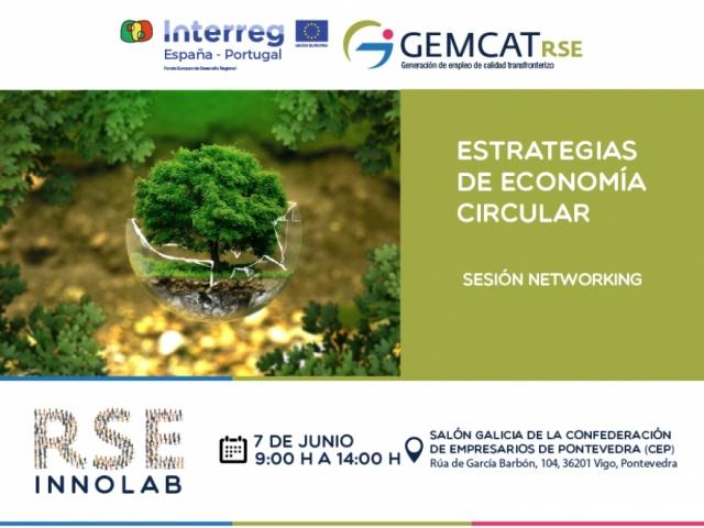 A economía circular, protagonista na nova sesión networking da RSE-Innolab