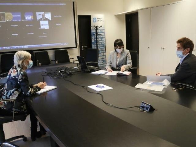 A conselleira de Emprego e Igualdade reafirma o compromiso da administración autonómica coa formación dos traballadores