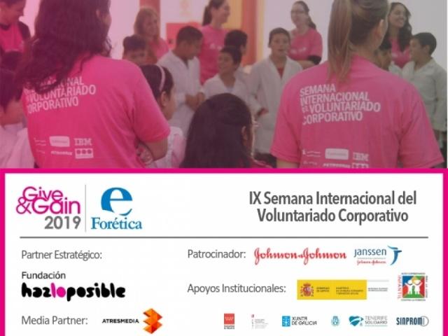 Presentación de la IX Semana Internacional del Voluntariado Corporativo