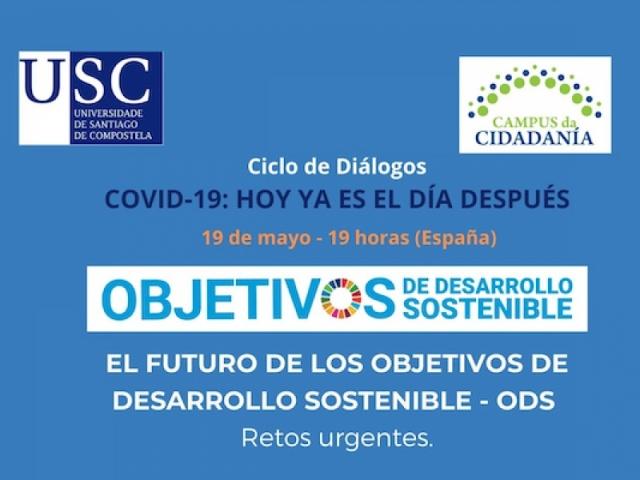 Os retos urxentes do futuro dos ODS abordaranse nunha sesión en liña o vindeiro 19 de maio