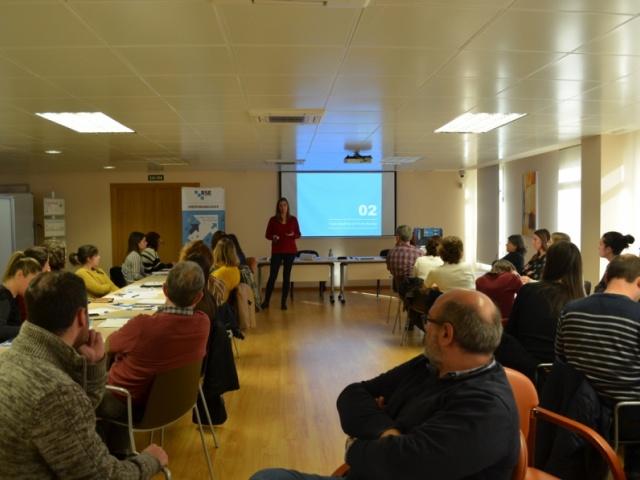 45 pemes da Coruña e Lugo participan na formación presencial de Responsabilízate