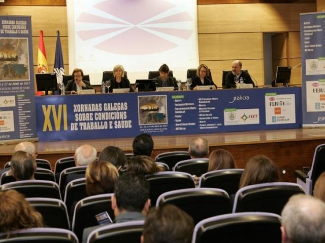 Ferrol concentrou o debate sobre seguridade laboral e saúde