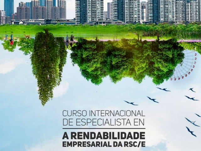 """Aberto o prazo de matrícula do Curso Internacional de Especialista en: """"Rendibilidade Empresarial da RSC"""" da Cátedra Internacional de RSC da Eurorrexión Galicia - Norte de Portugal"""
