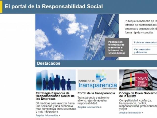 O Ministerio de Emprego lanza o Portal da Responsabilidade Social