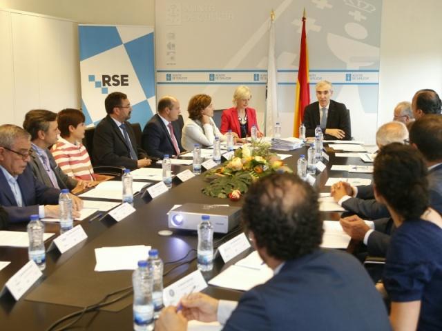 A Xunta renova coas grandes empresas o compromiso por situar Galicia nun referente en responsabilidade social
